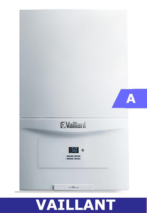 Imagen frontal de la caldera de gas Vaillant Ecotec Pure 236 wmv